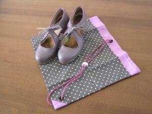 Personalizovaná taška na boty na flamenco