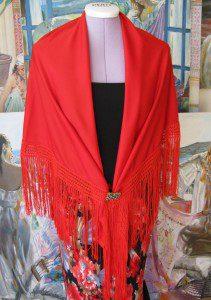 Picos jednobarevný červený