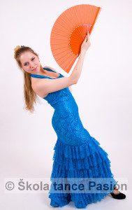 Šaty na flamenco_Ateliér Son Rubias