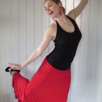 Sukně na flamenco
