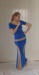 Sukně na flamenco Debla