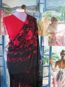 Mantón MN049_Flamenco obchod