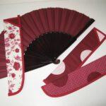 Pouzdra na velké vějíře na flamenco