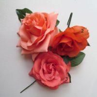 d0f33e3ab40 Květiny do vlasů oranžové (různé)