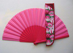 Pouzdro na velký vějíř na flamenco PVV041