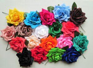 Velké růže do vlasů_Flamenco obchod