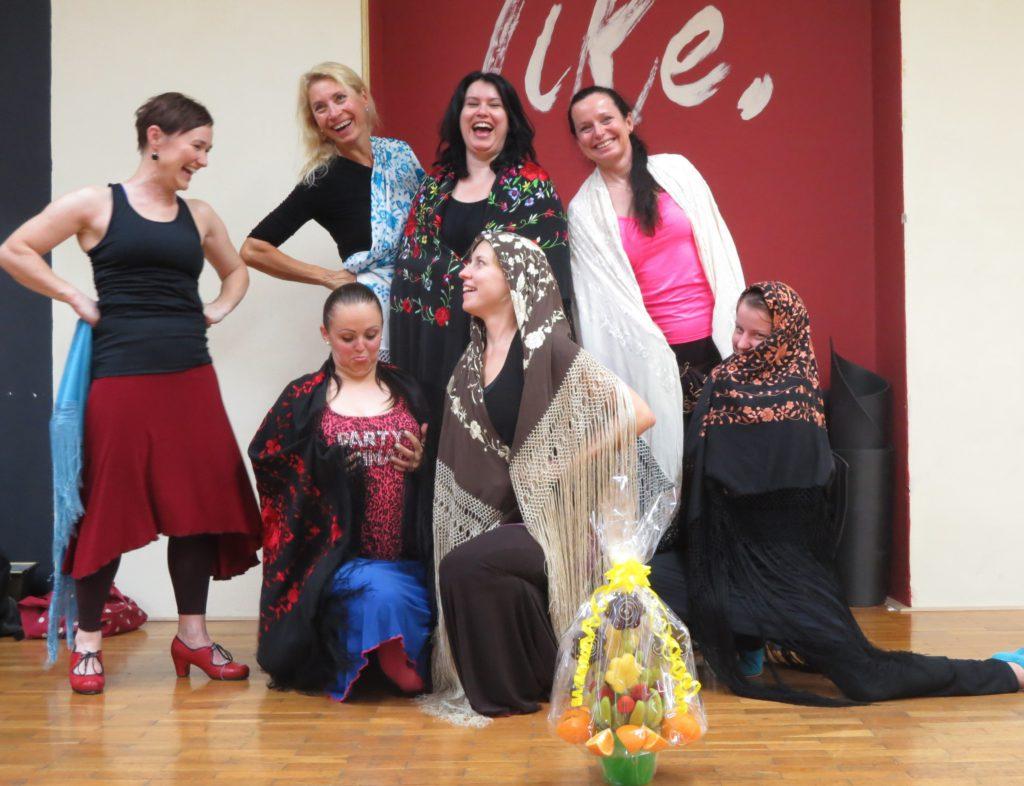 Kurzy flamenca v Ostravě_Aneta Suchomelová