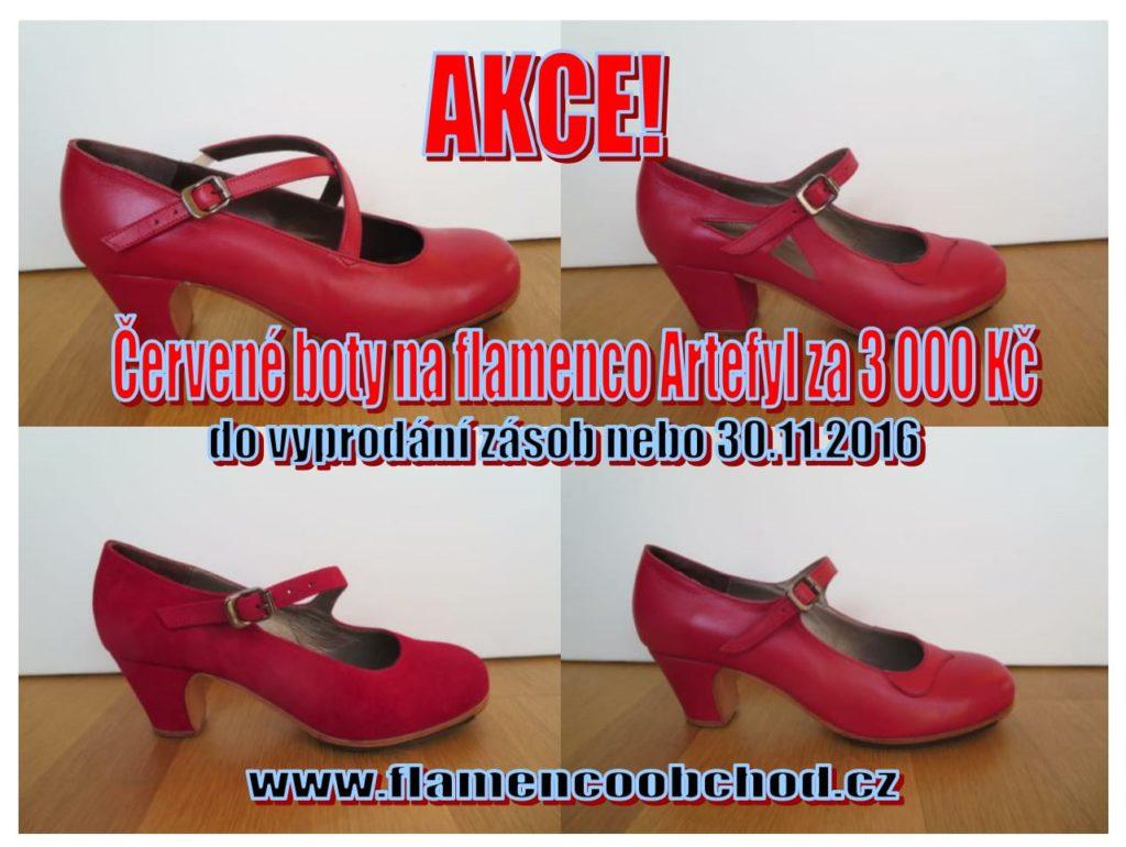 Akce na boty na flamenco Artefyl